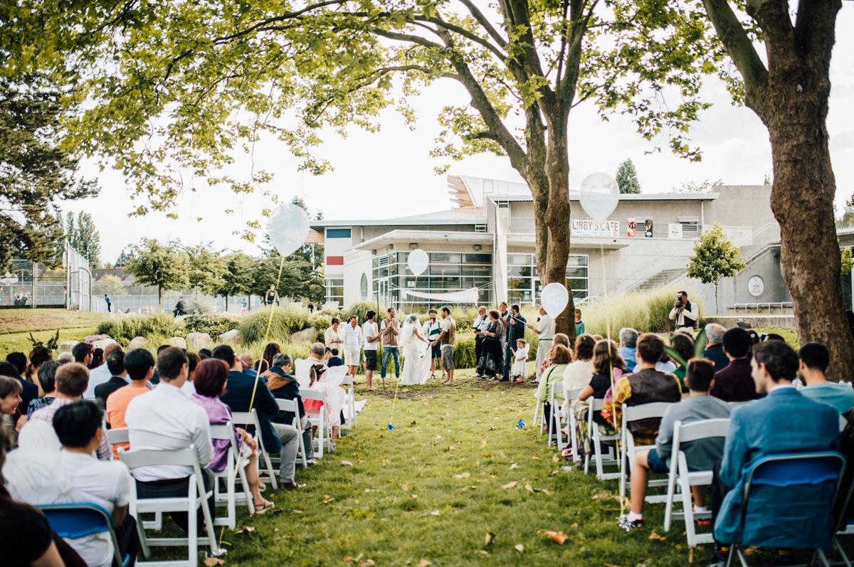 Artistic Vancouver wedding photos