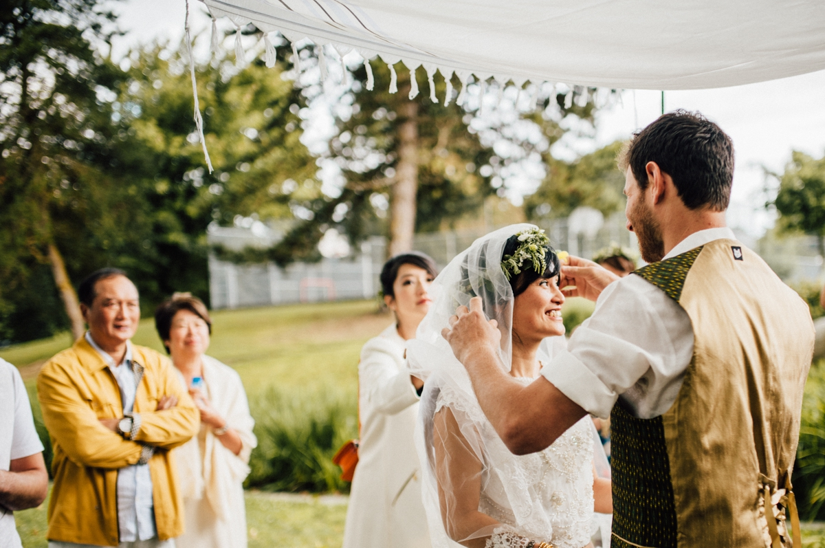 Emotional Vancouver wedding