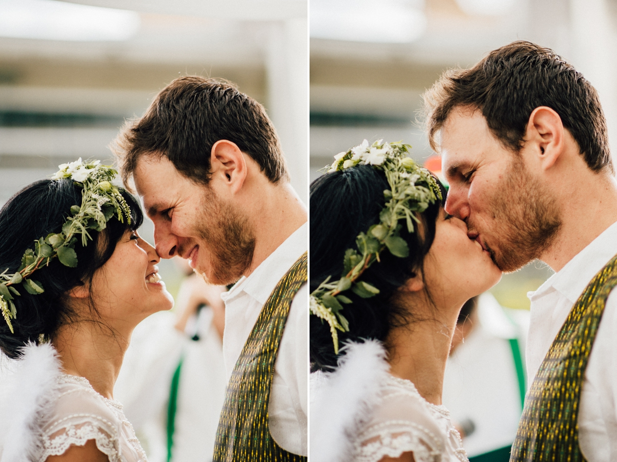 Exciting Vancouver wedding