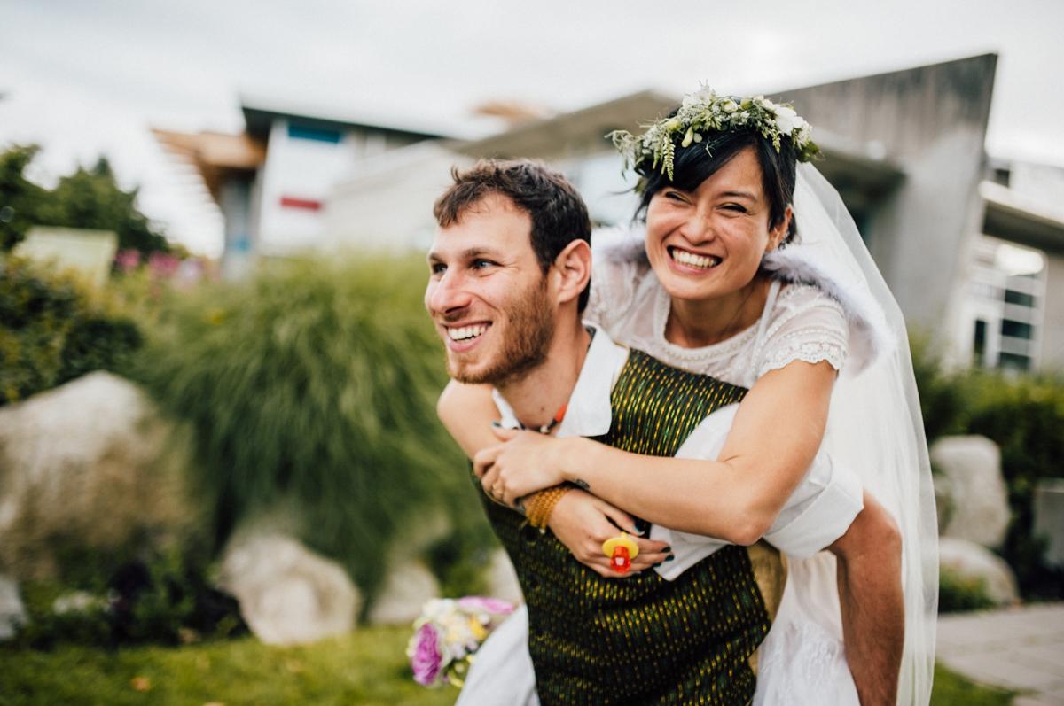 Inspirational BC wedding
