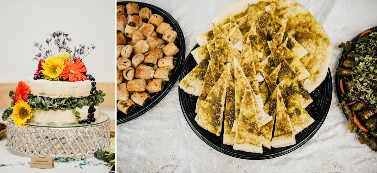 Israeli wedding food