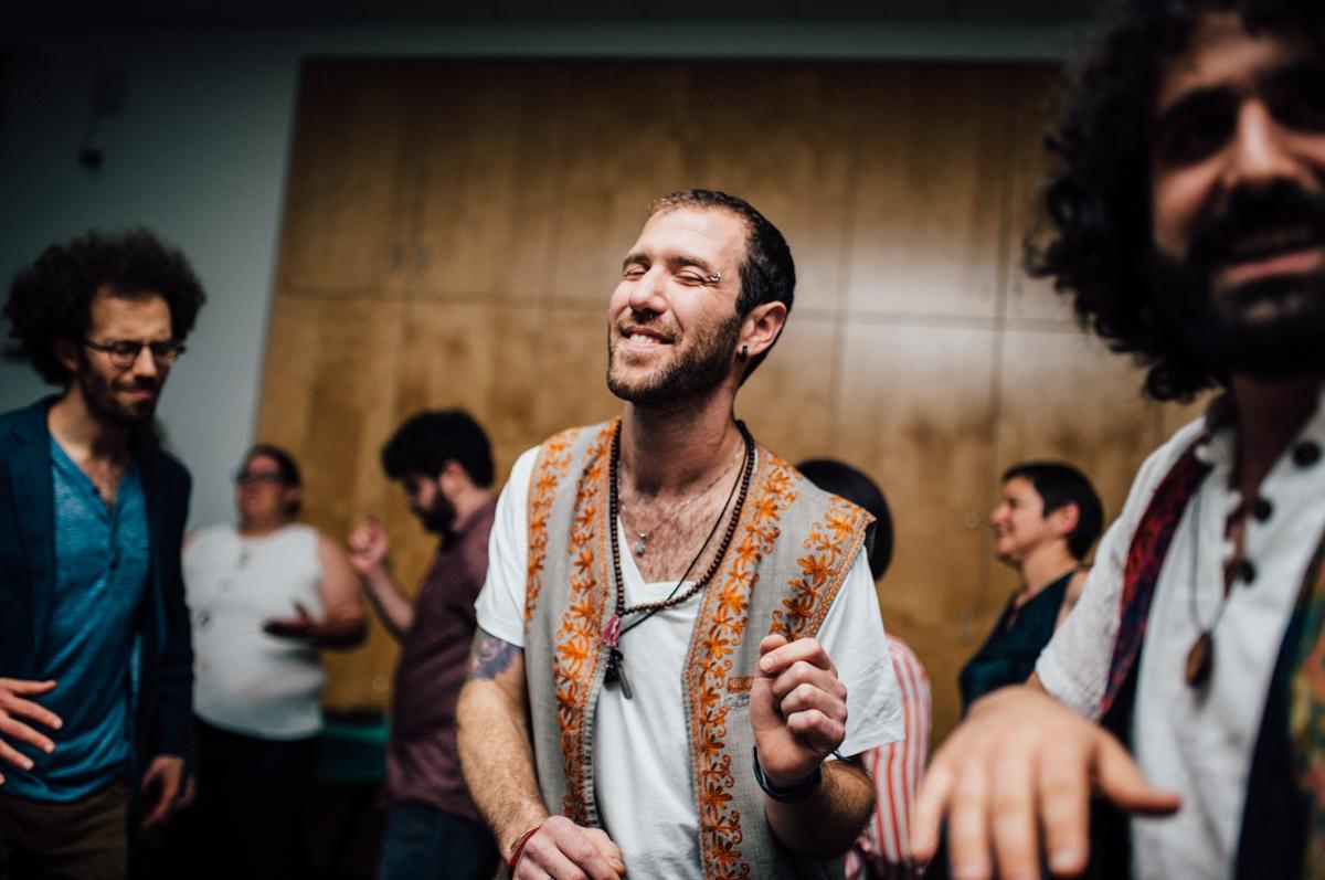 hippie vancouver wedding