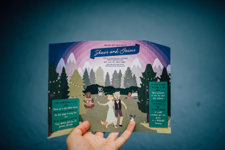 Fairy themed wedding