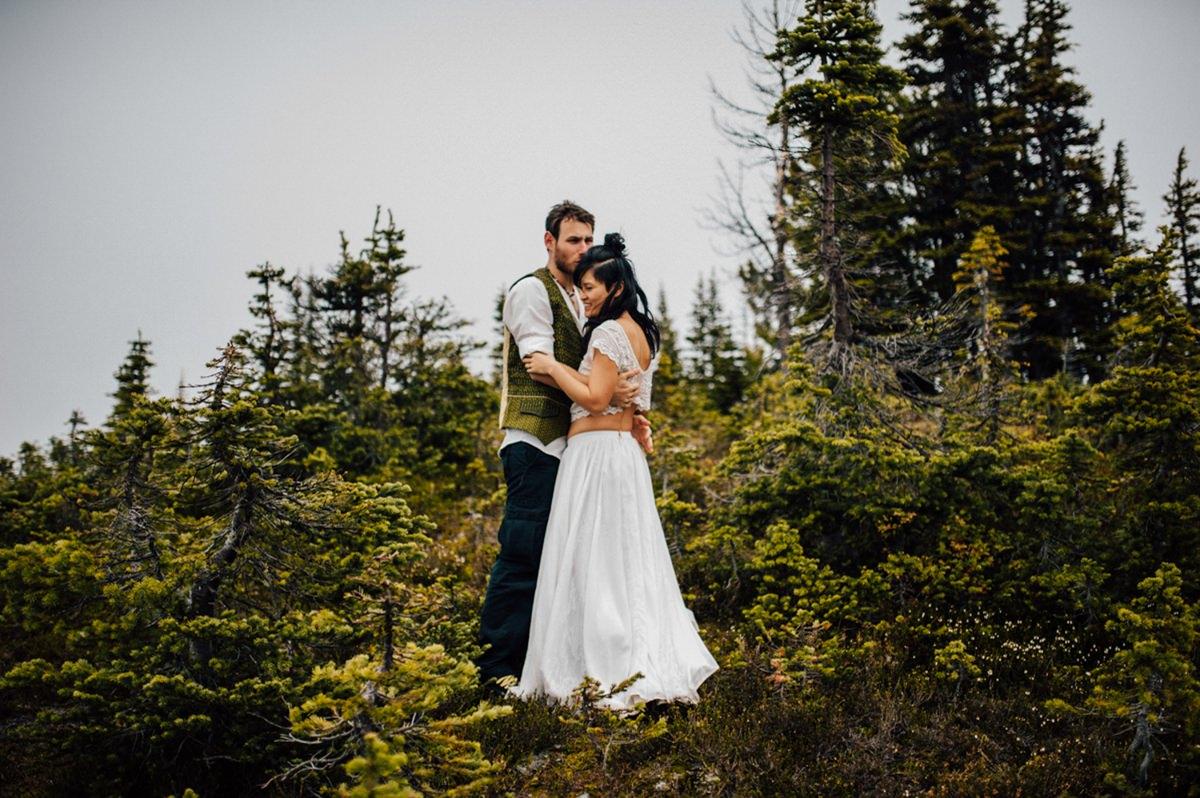 Adventurous Whistler wedding photography