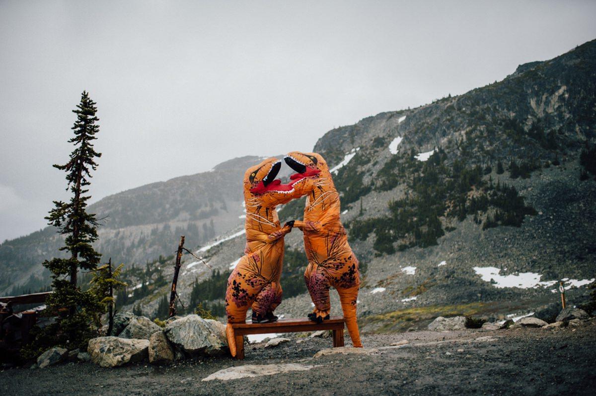 T Rex at Blackcomb