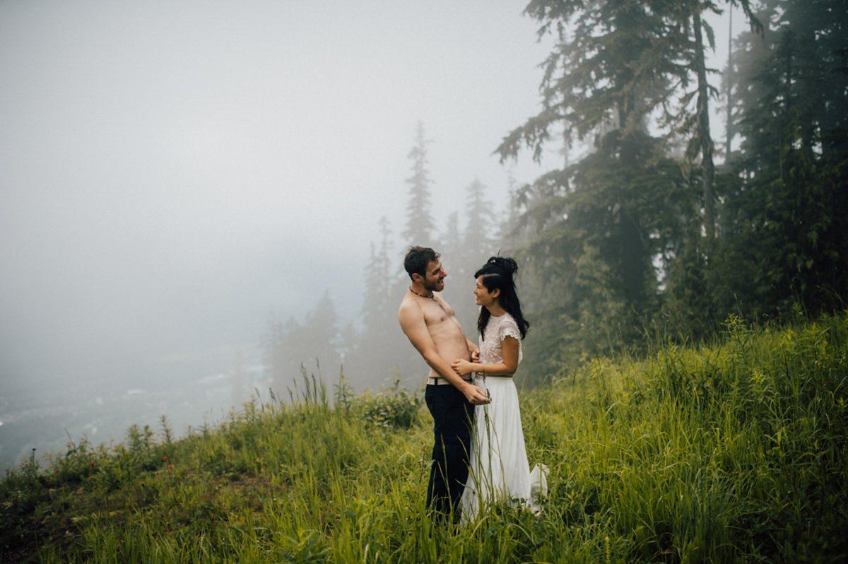 Beautiful BC wedding photography