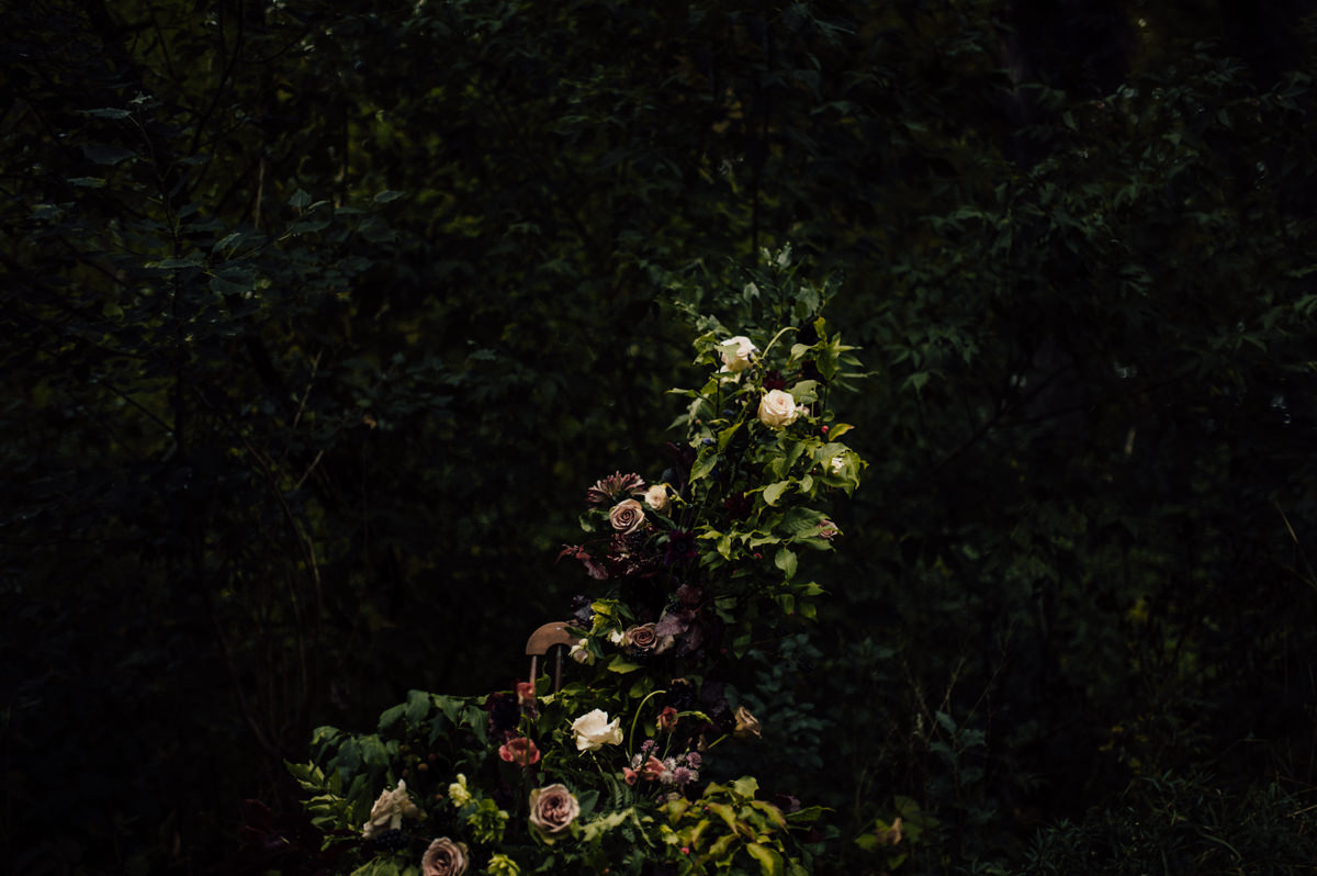 dark ethereal bridal