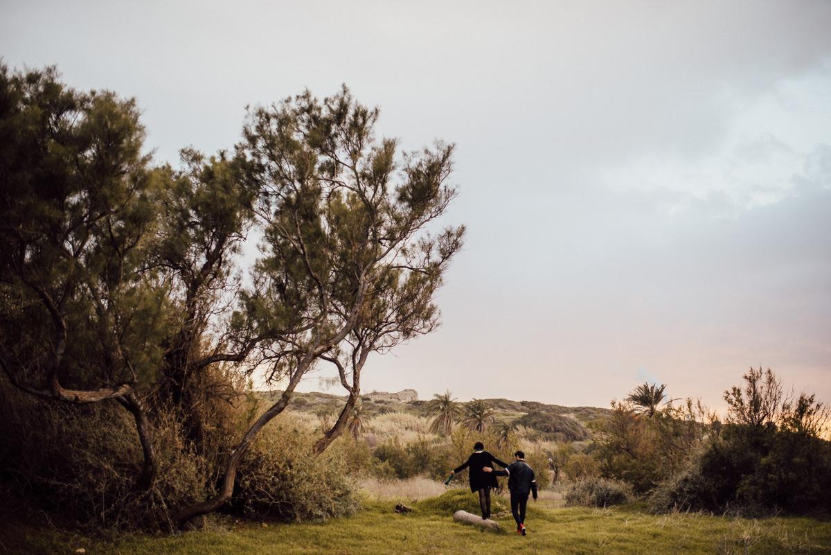 Engagement session at national park