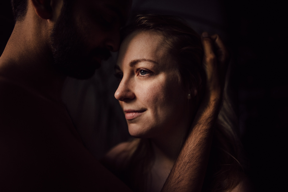 Fine art engagement session in Toronto