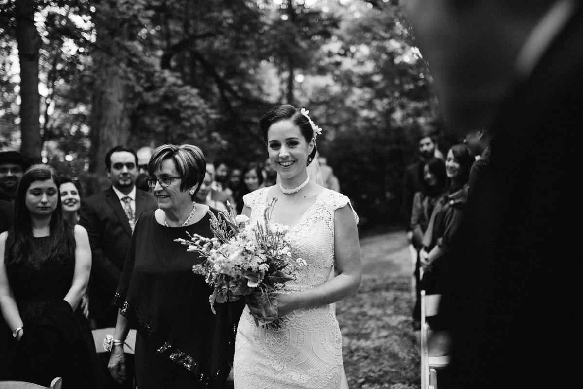 unique outdoor Toronto wedding