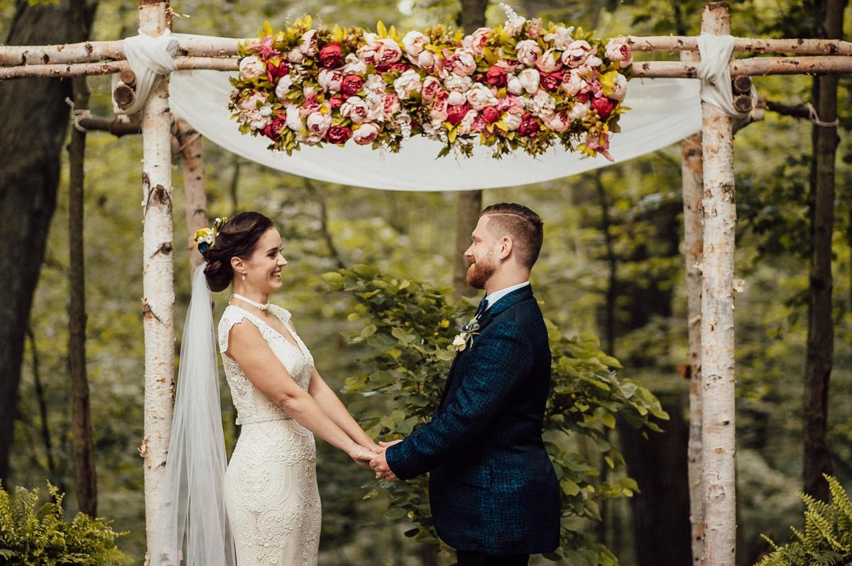 Toronto forest wedding venue