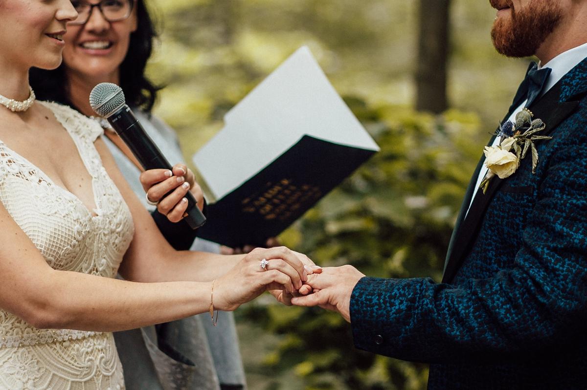 Magical forest Toronto wedding