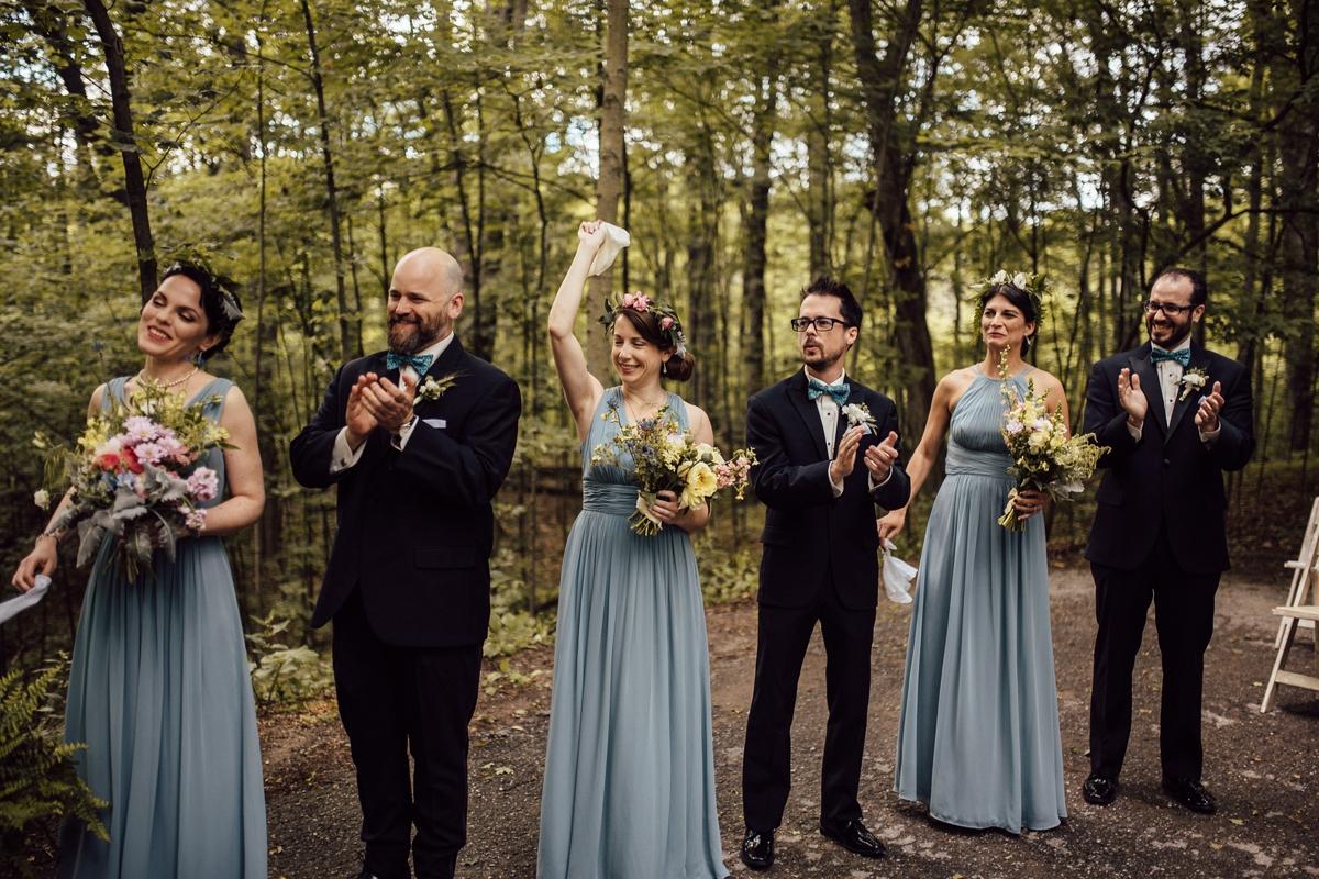 Toronto creative wedding ceremony