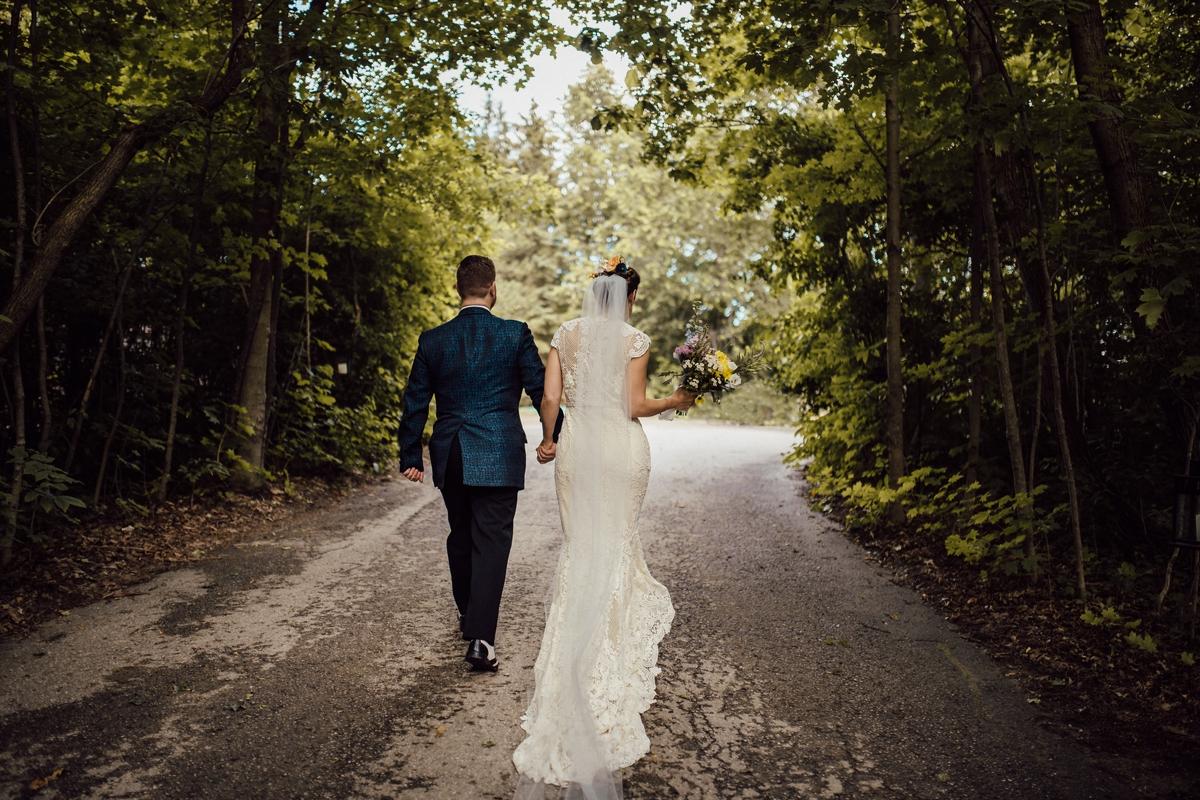 Artistic toronto wedding photos