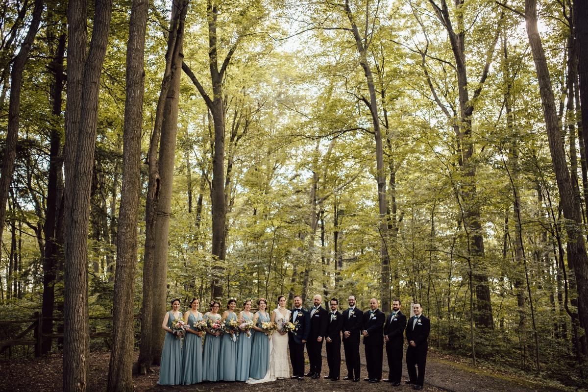 Toronto artistic bridal photos