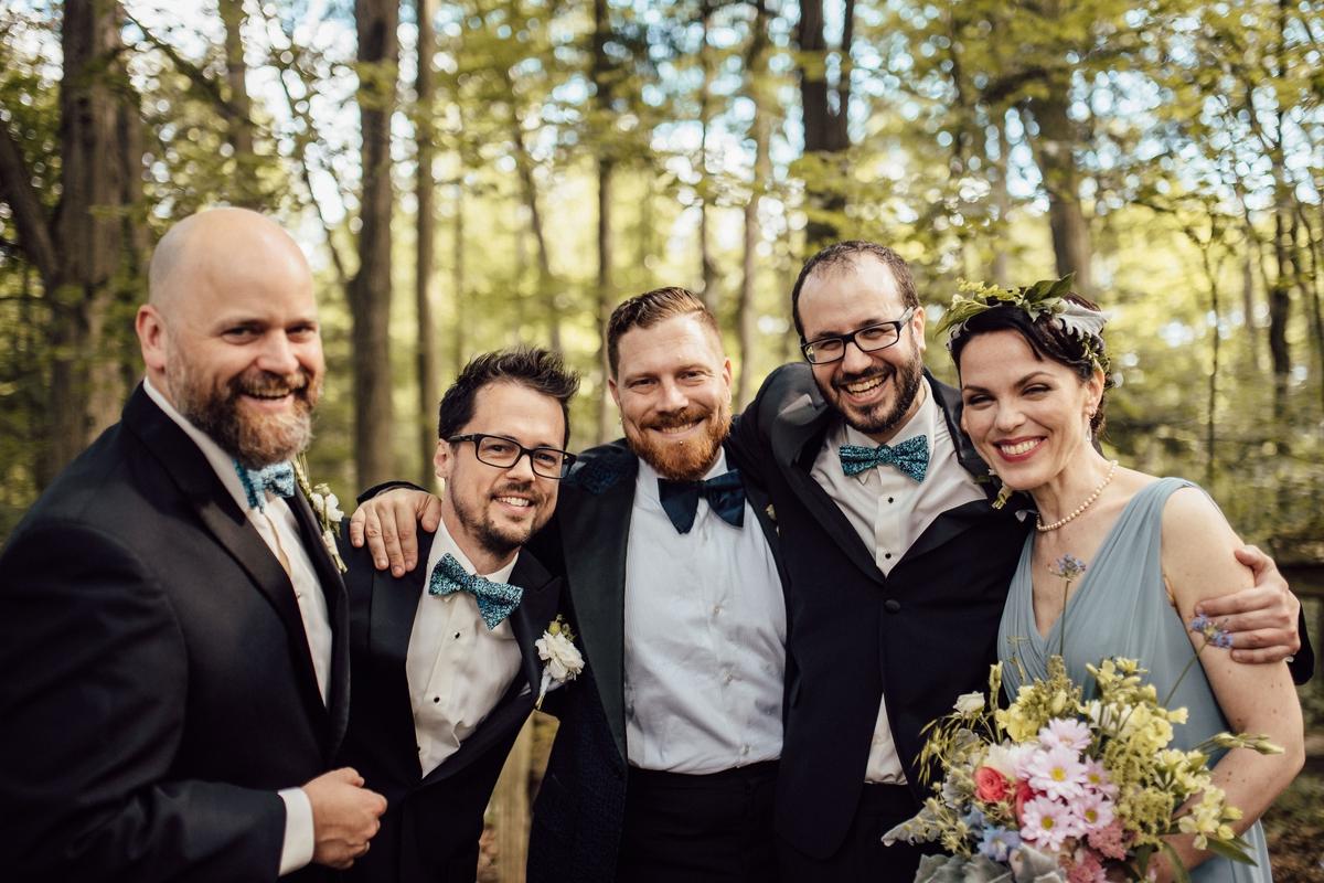 Artistic toronto bridal photos