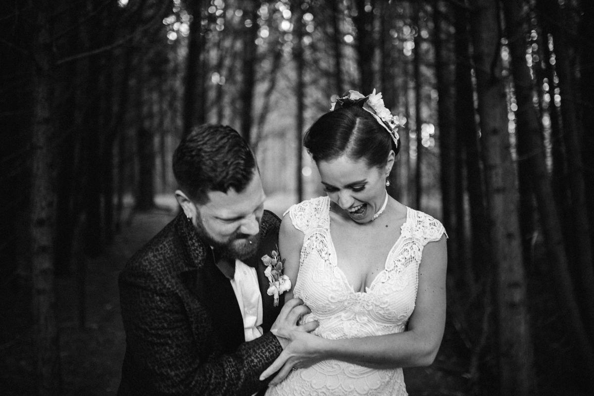 Kortright creative wedding