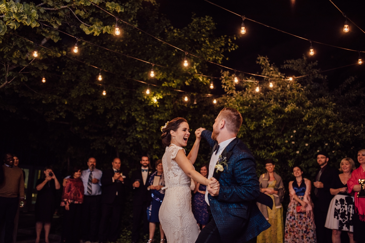 first dance in forest