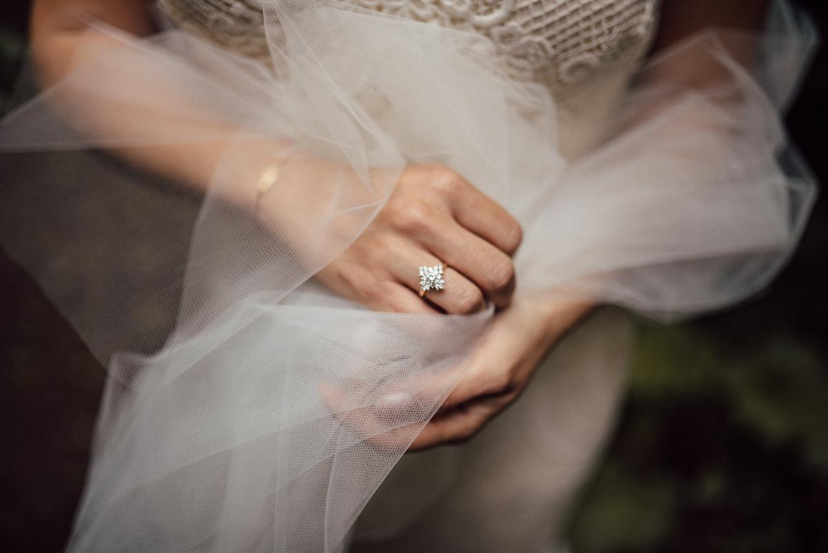 intimate kortright wedding