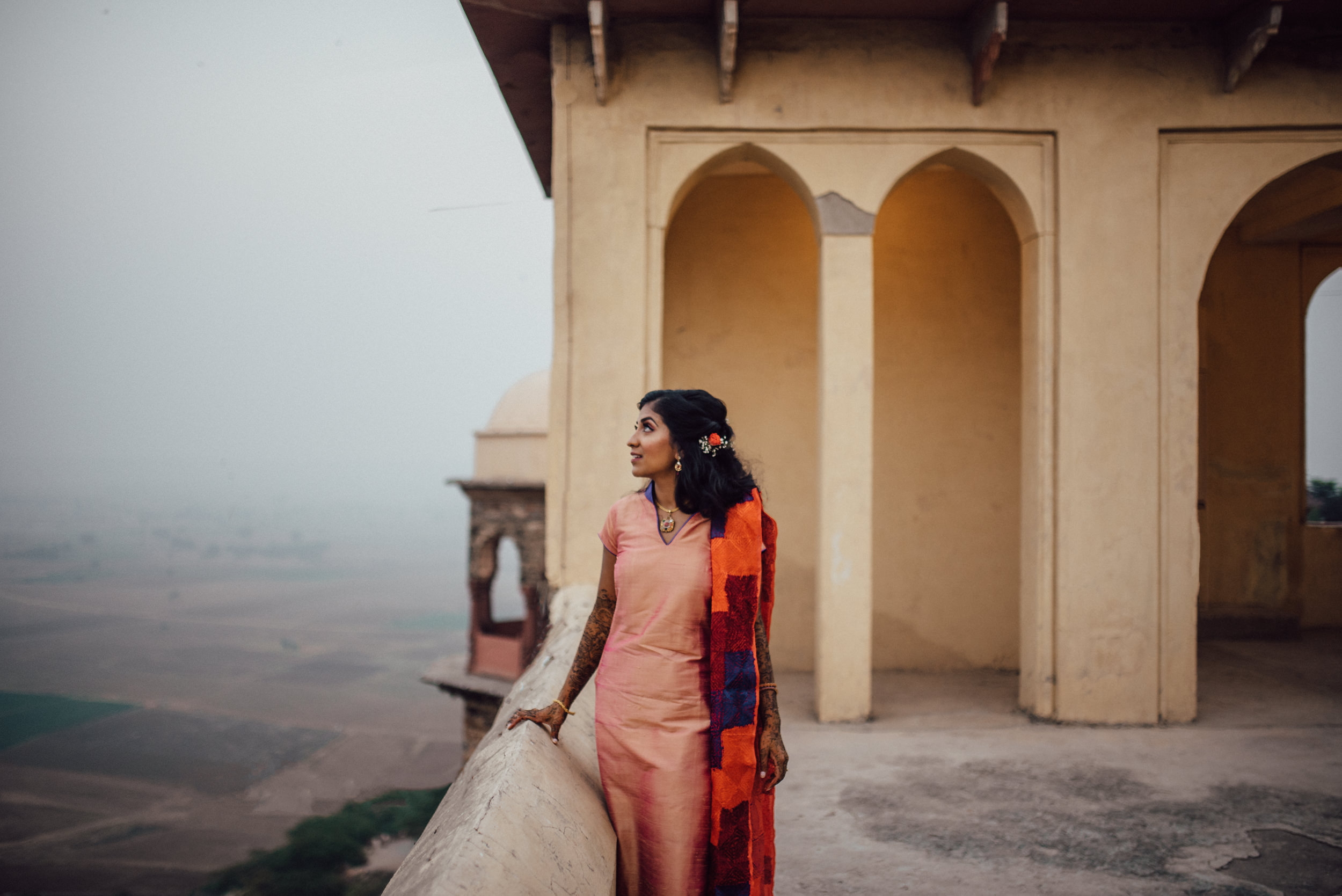 Bride at Tijara