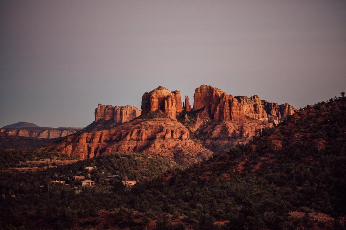Creative Northern Arizona engagement photography