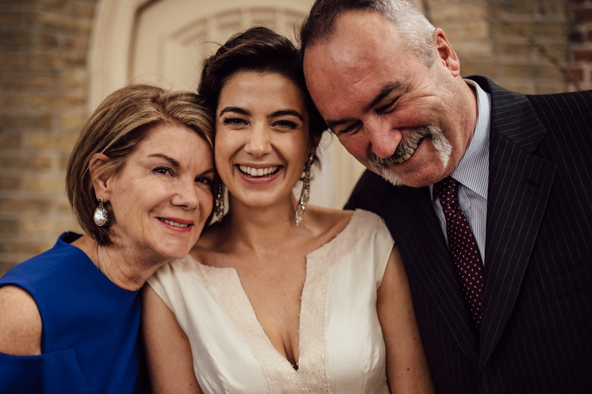 Beautiful family photos at wedding