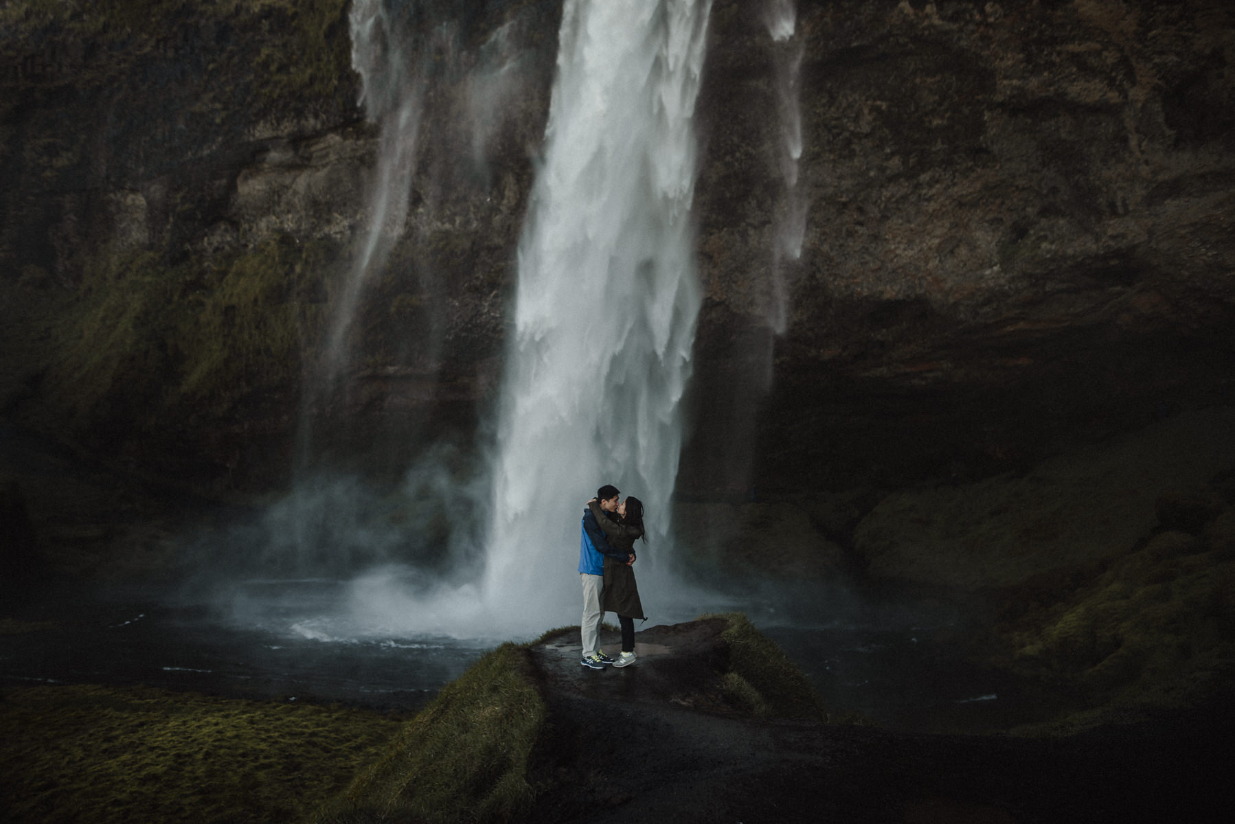 seljalandsfoss wedding photography