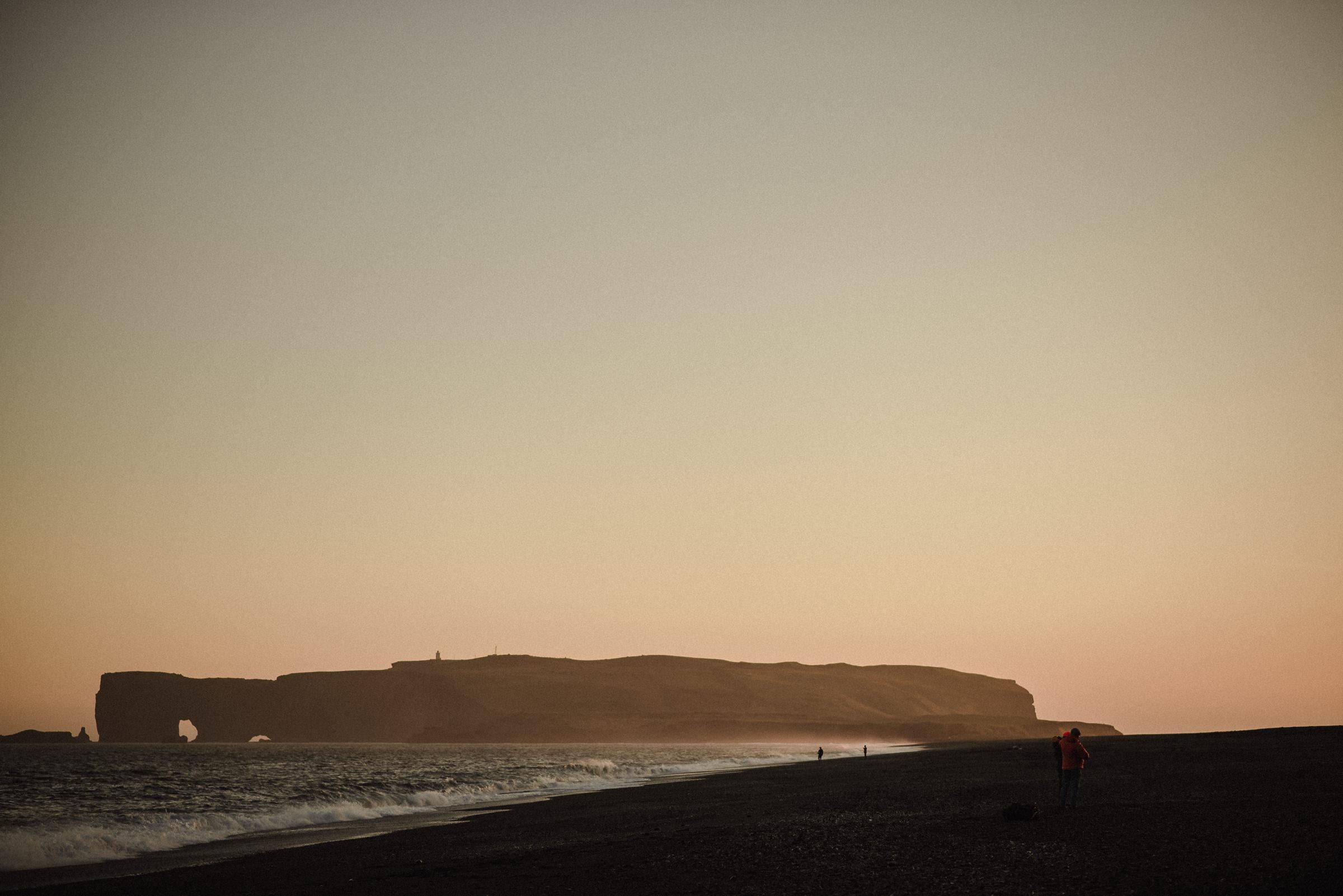 Iceland beach elopement