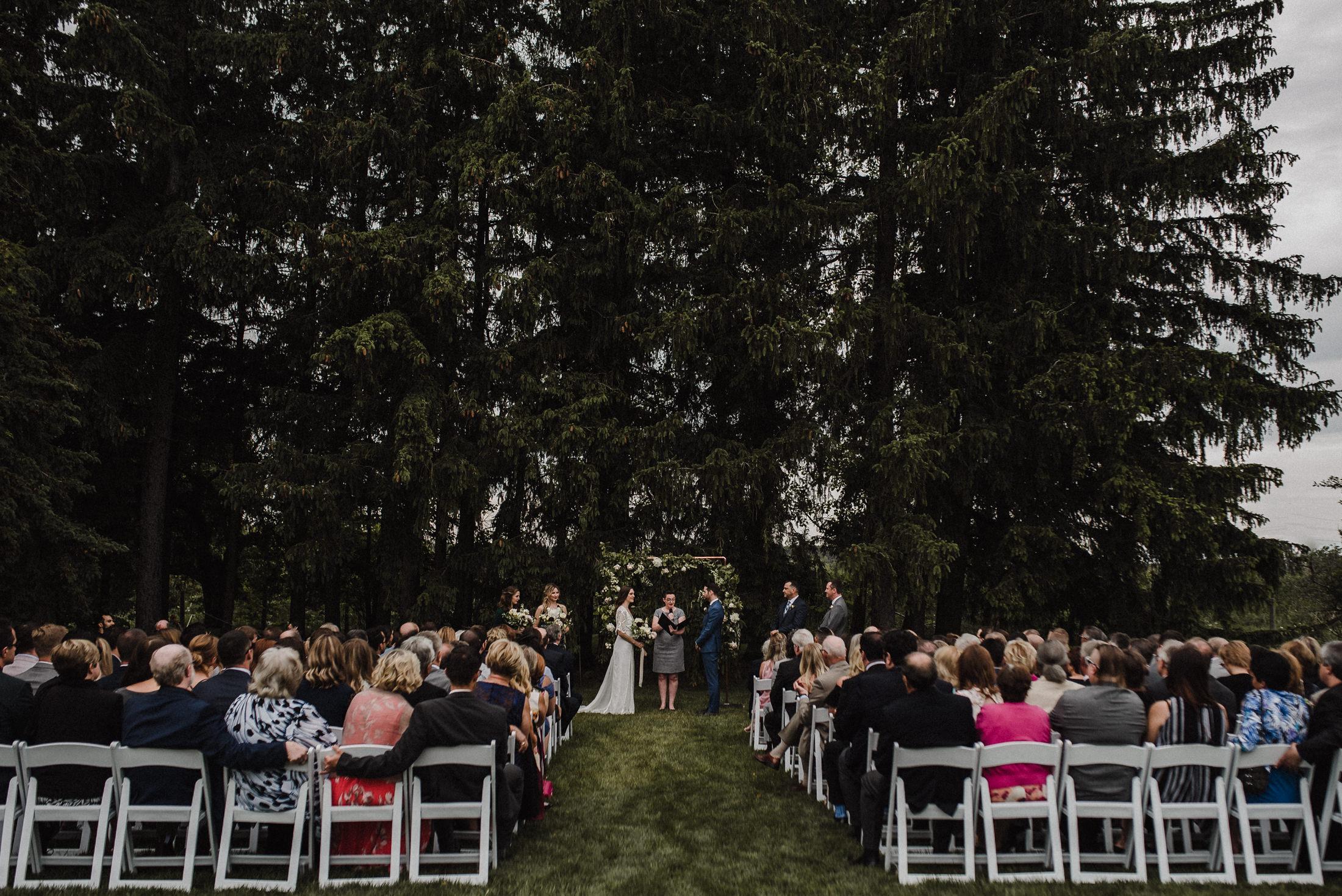emotional toronto ceremony