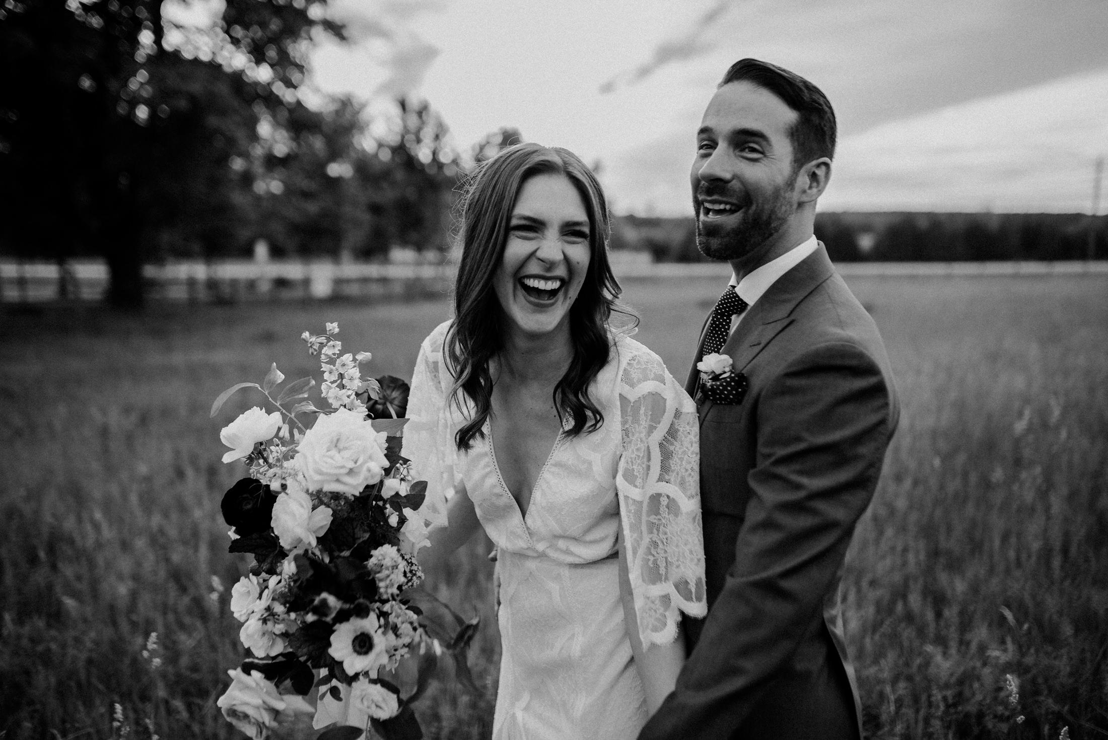 dark and moody toronto wedding photography