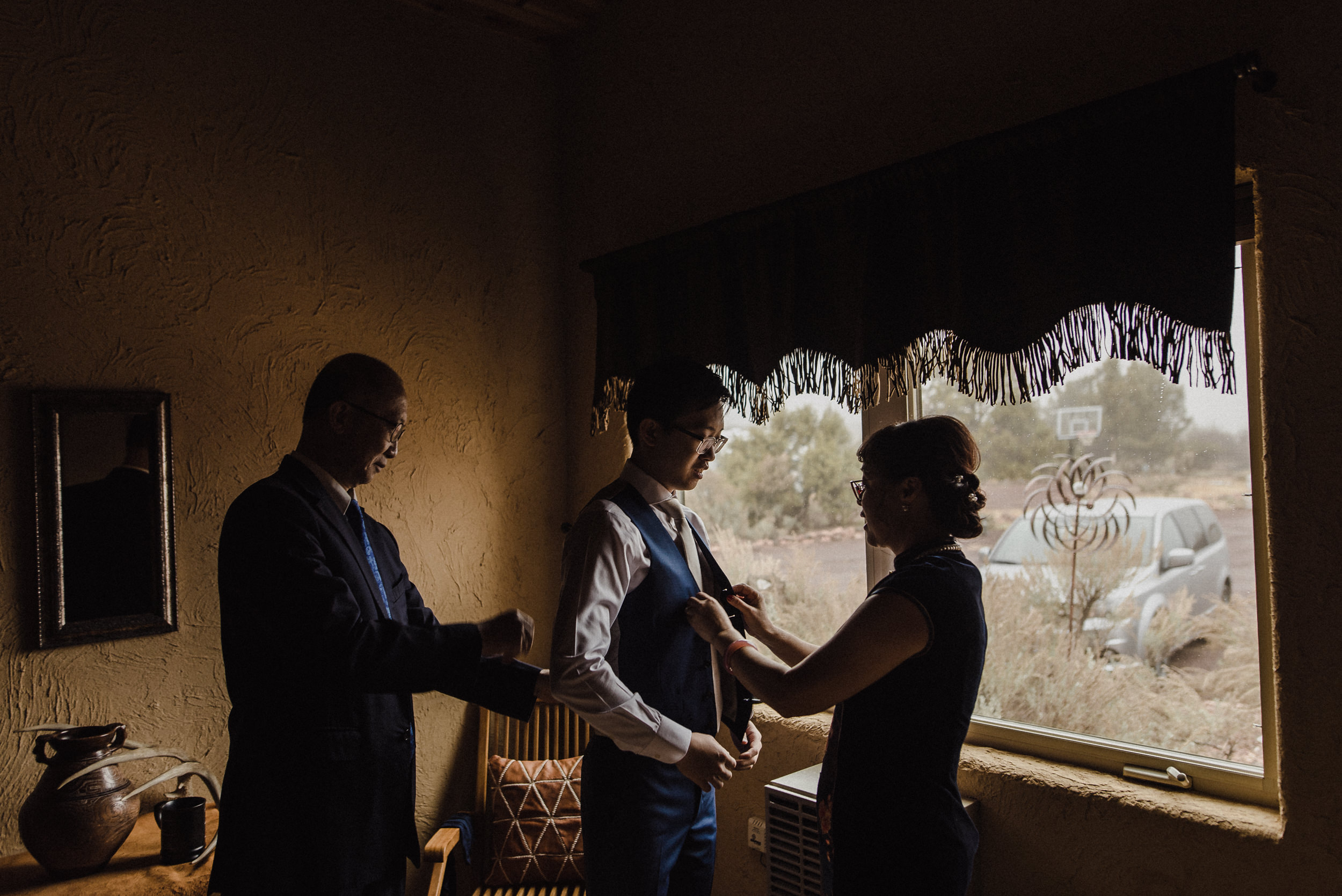 intimate zion elopement