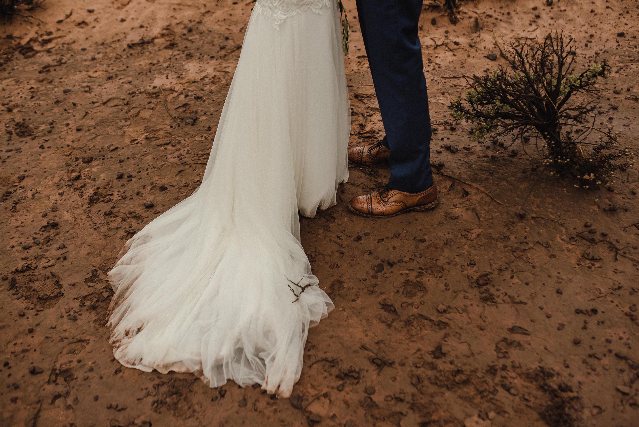 december zion wedding