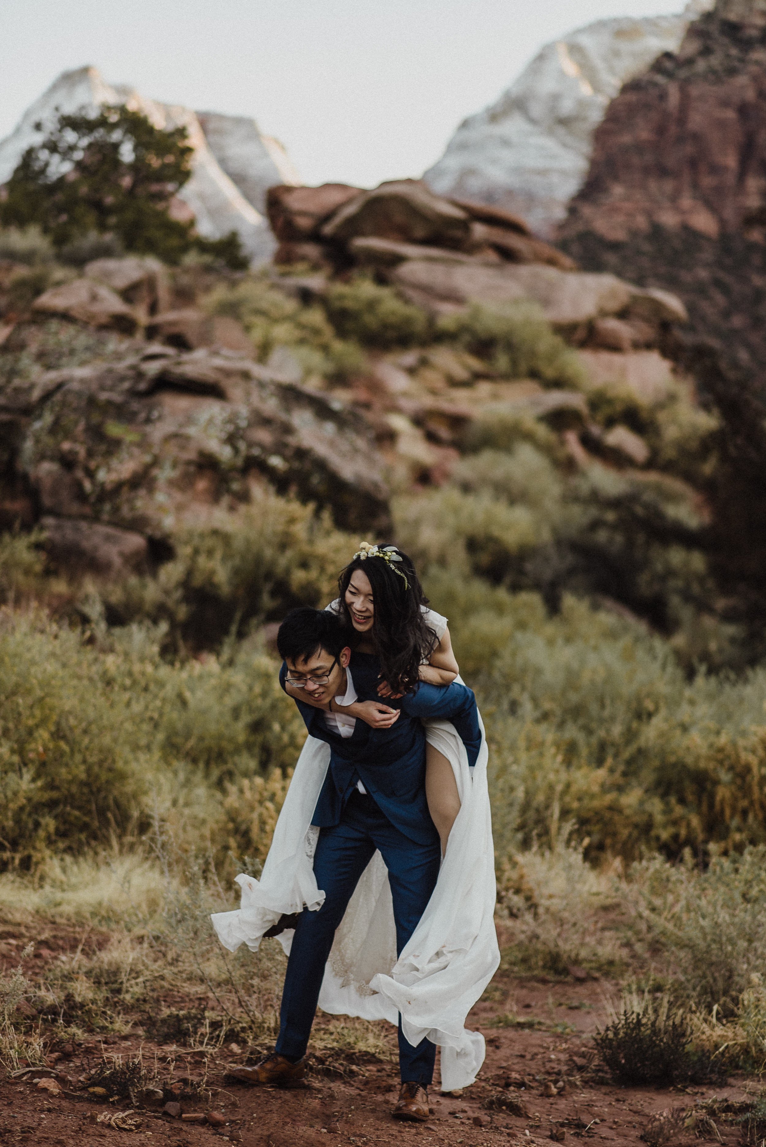 adventurous utah elopement photographer