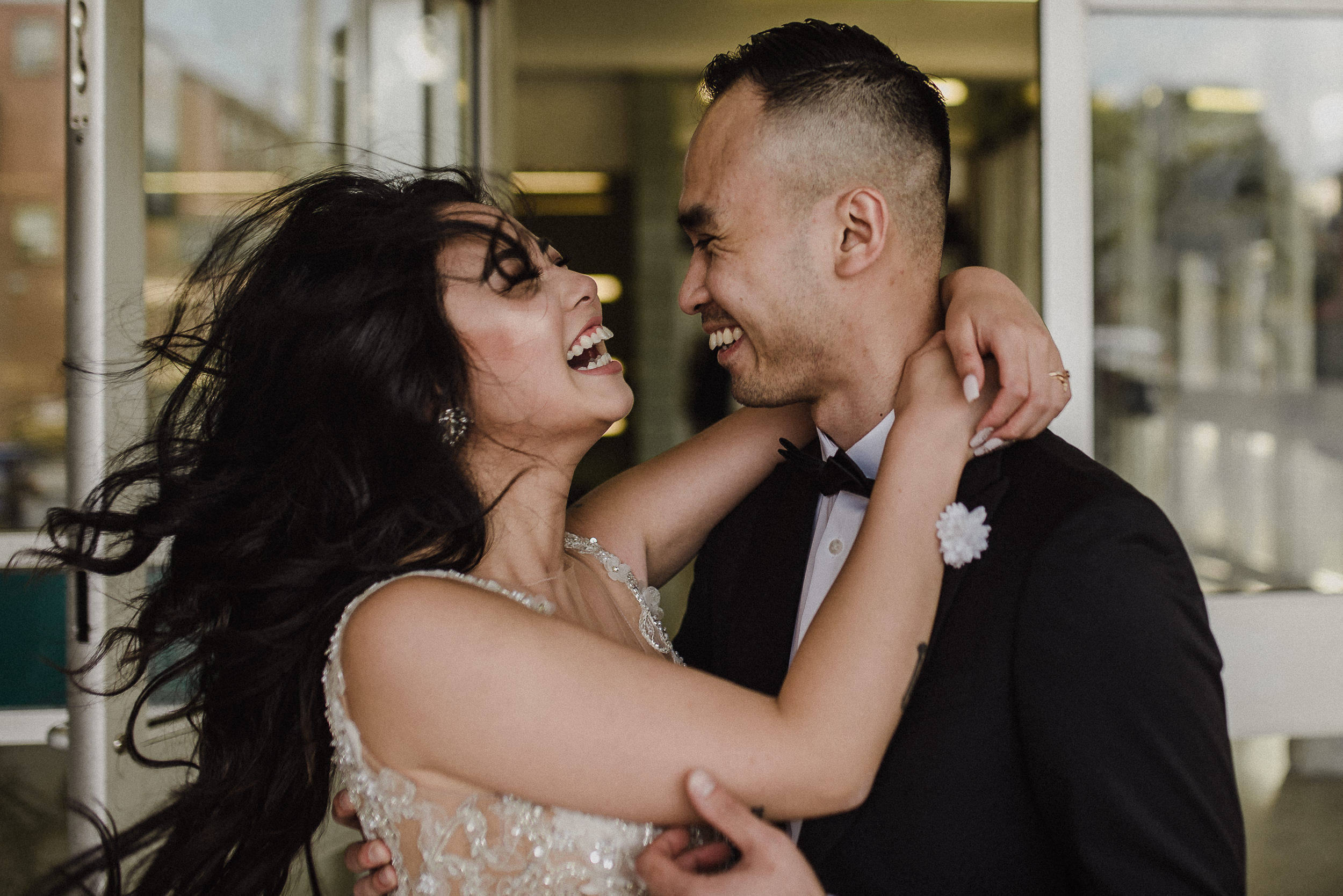 nontraditional toronto wedding