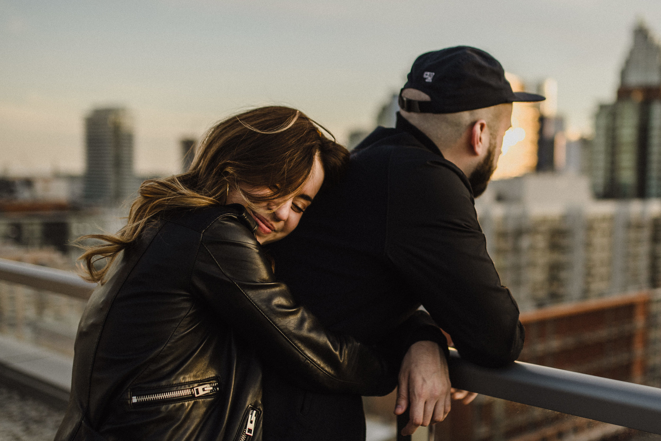 rooftop engagement toronto