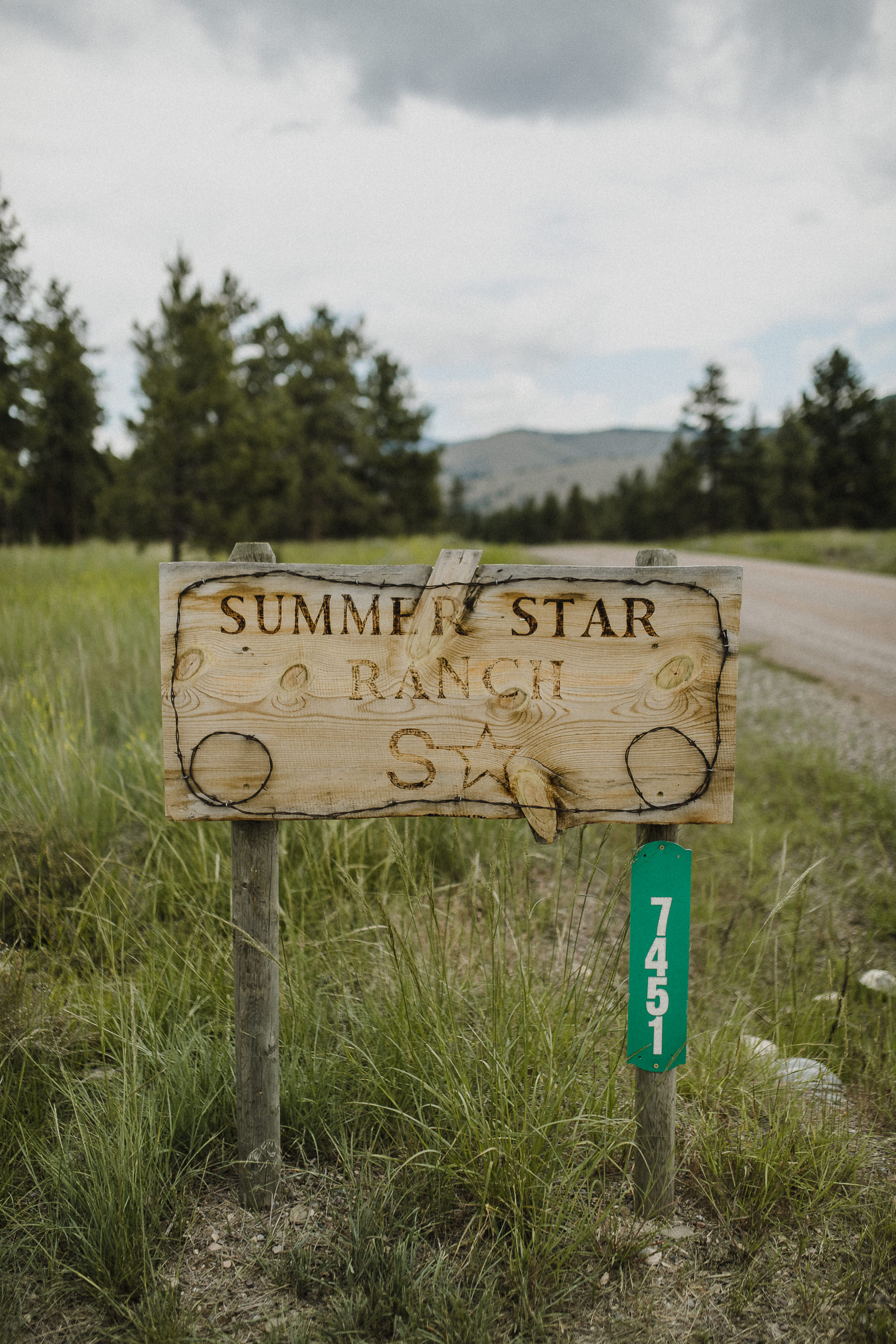 Summer Star Ranch beautiful wedding reception