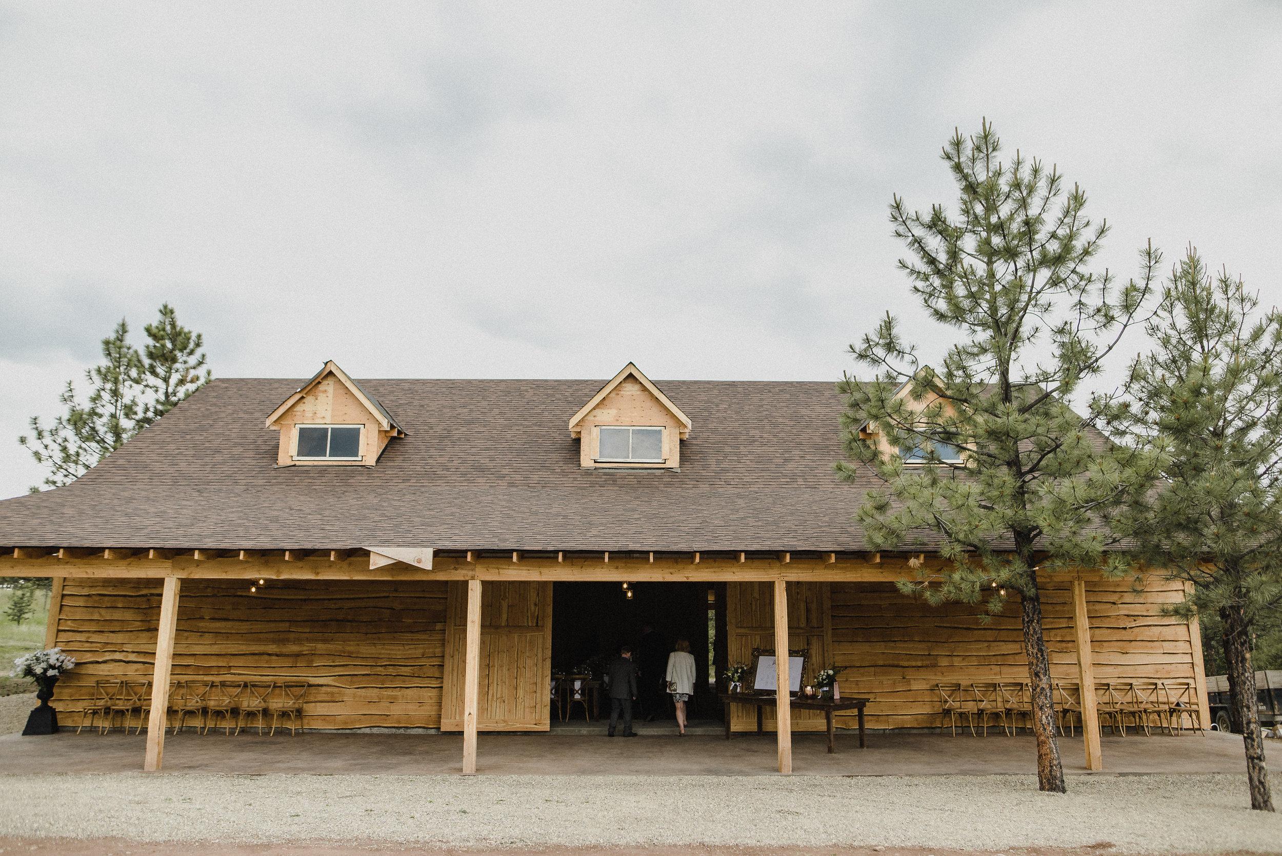 Summer Star Ranch wedding reception