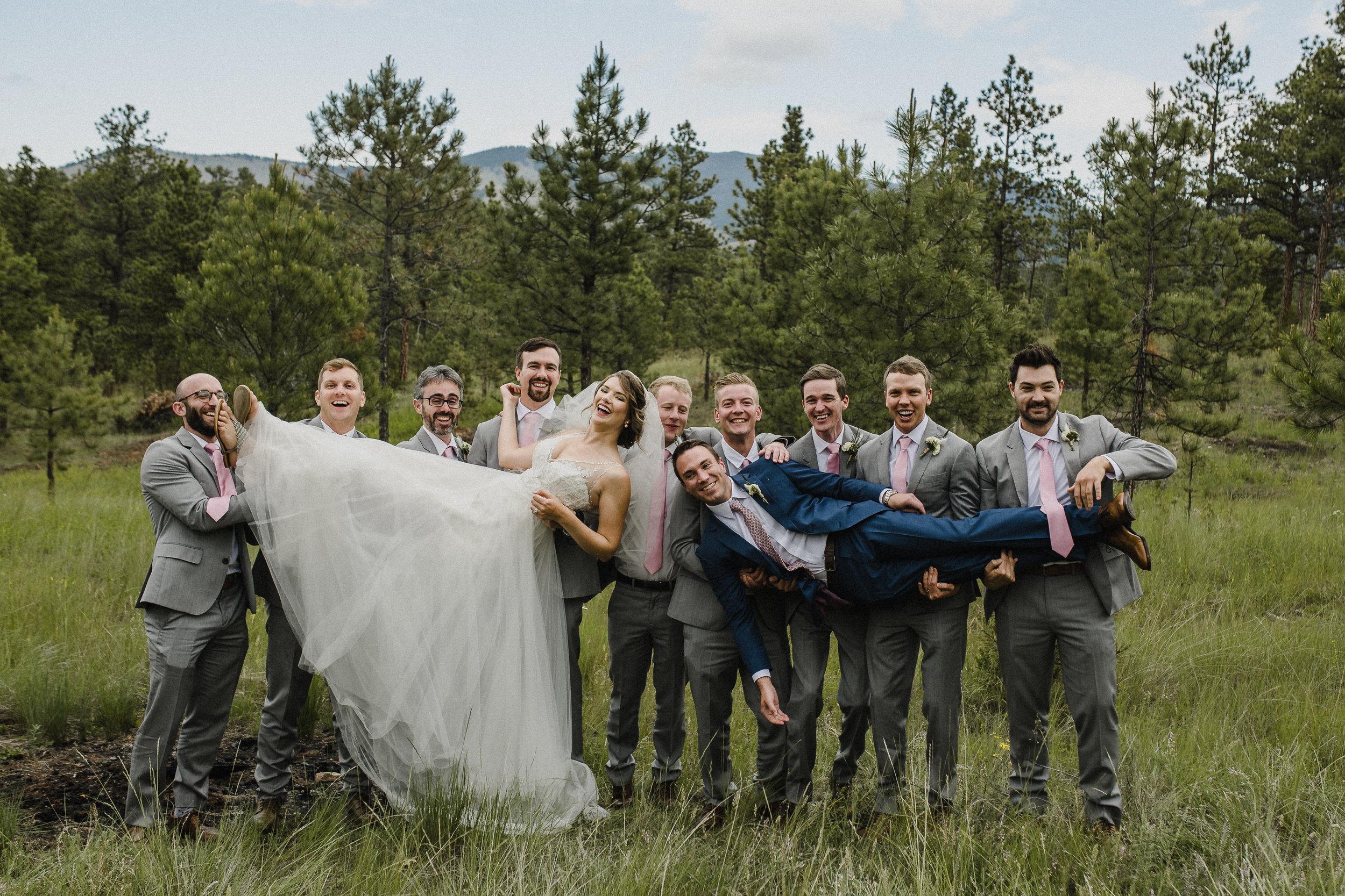 Destination wedding in Montana