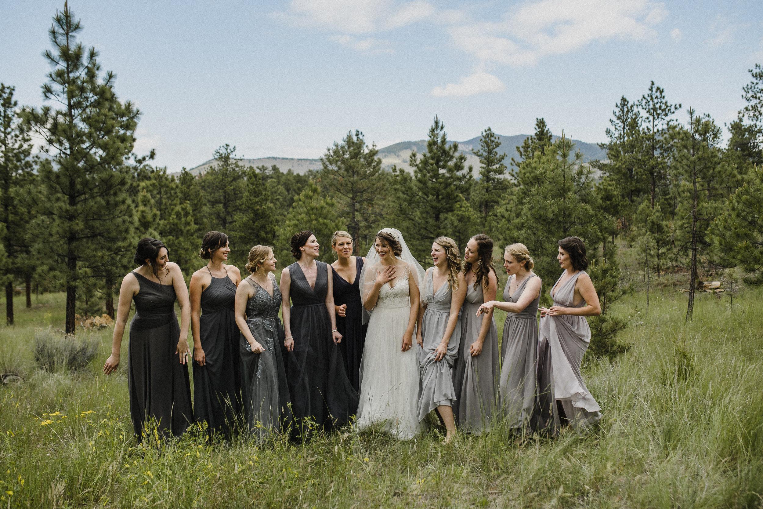 Wedding in Helena at Summer Star Ranch