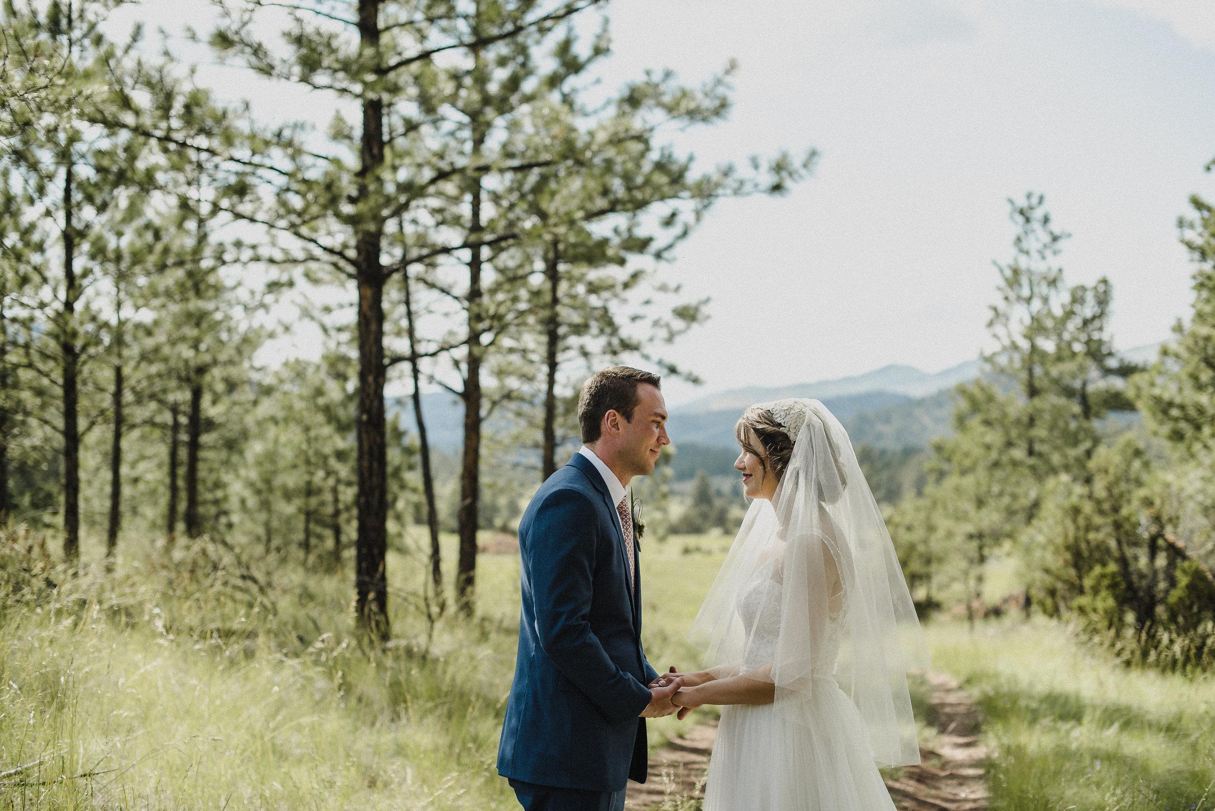Beautiful wedding portraits at Summer Star Ranch