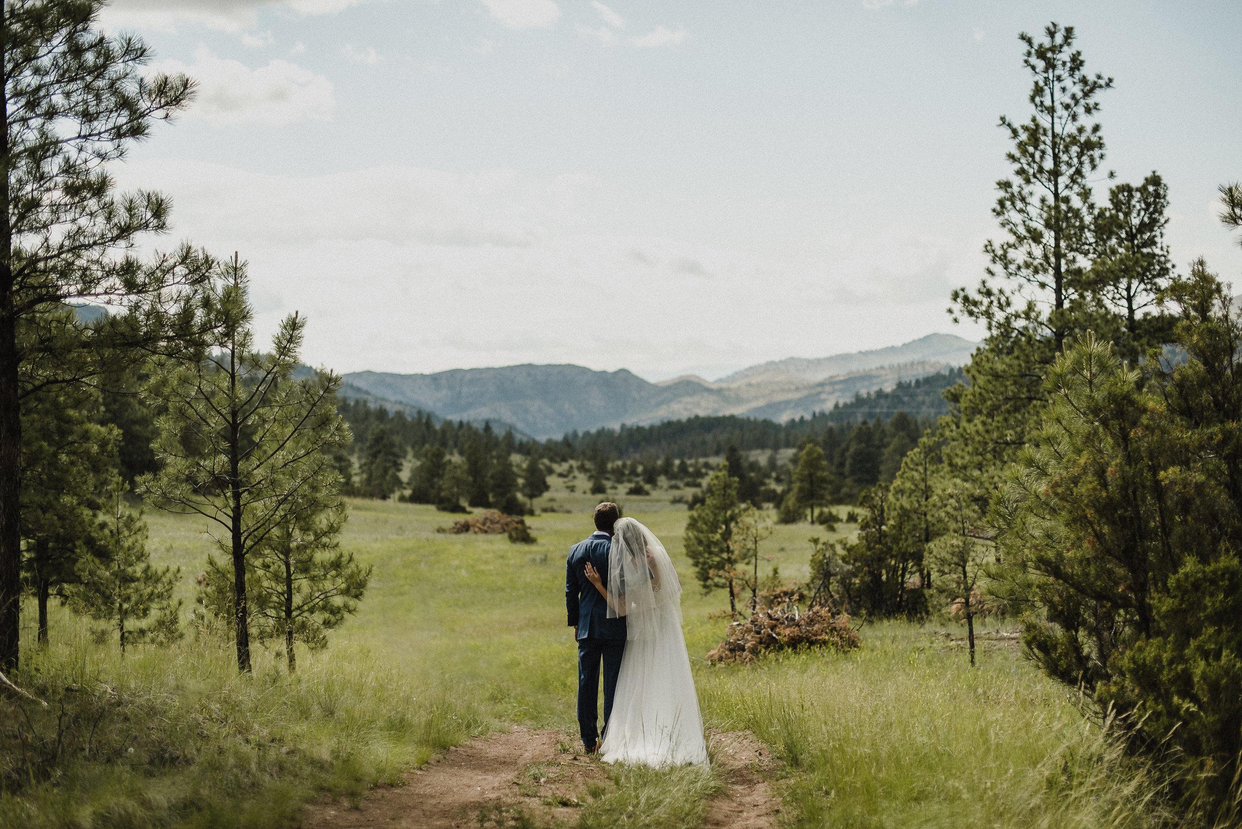 Stunning Scenery at Summer Star Ranch Helena wedding venue