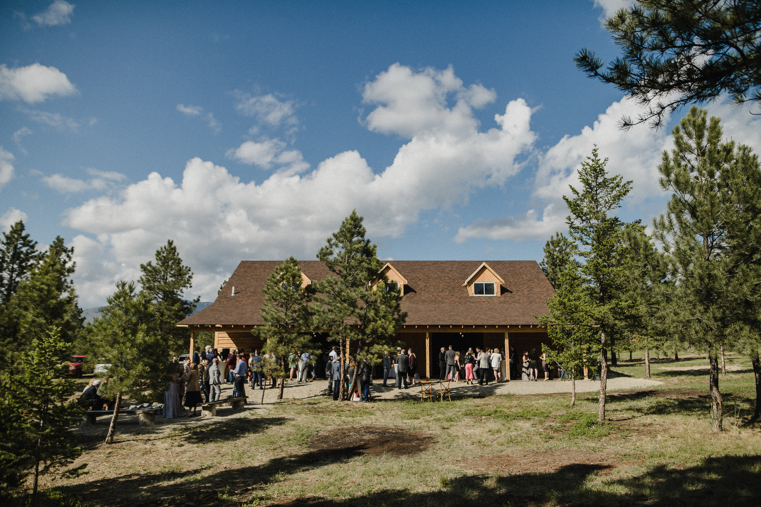 Destination wedding in Montana photography