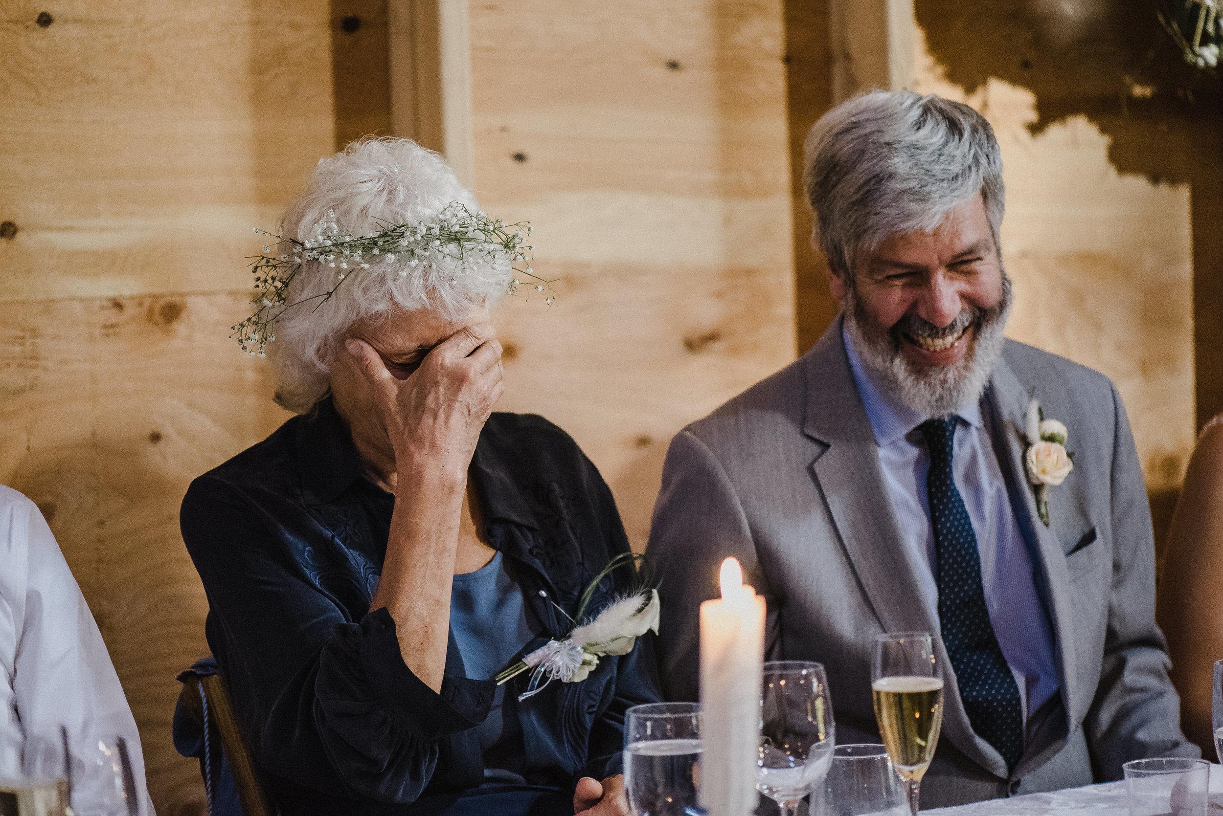 Fun times at Summer Star Ranch wedding reception
