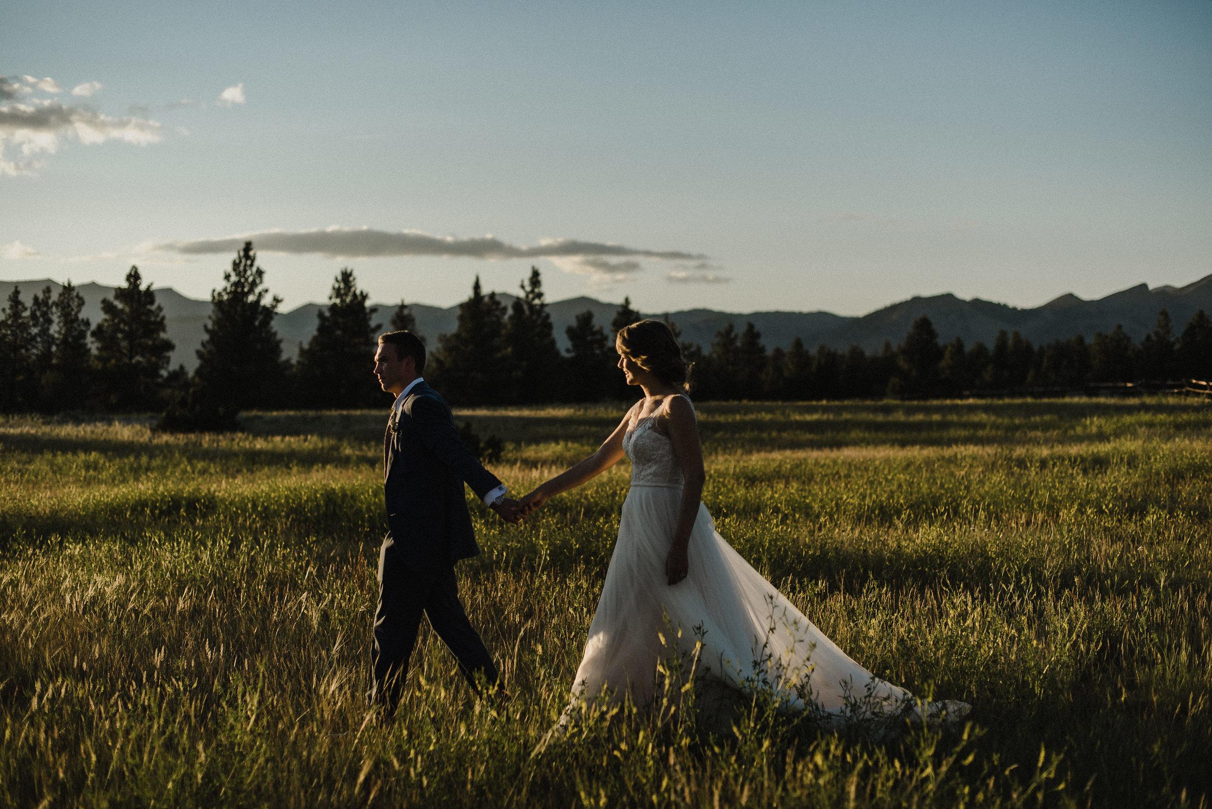 summer star ranch wedding