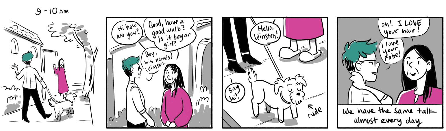 Hourly Comics 2018 — Molly Ostertag