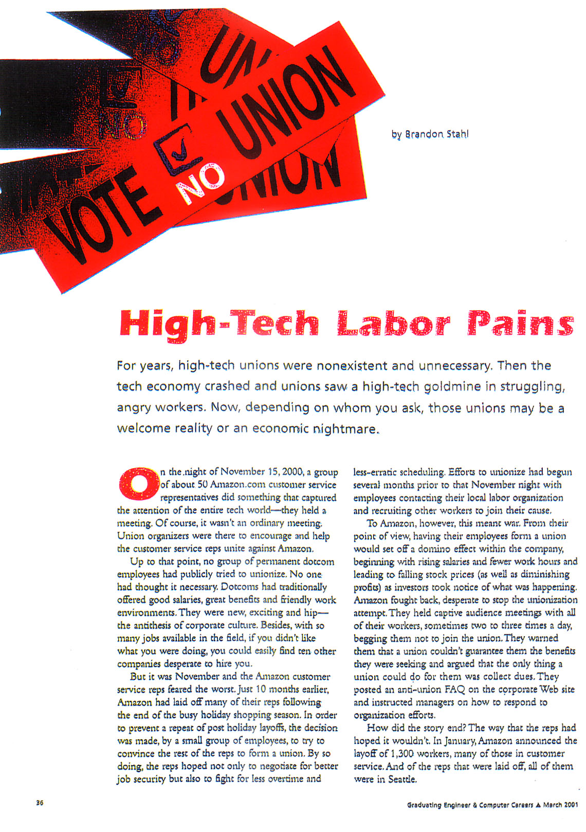 graduating engineer & computer careers-march 2001-high-tech labor pains page 1.jpg
