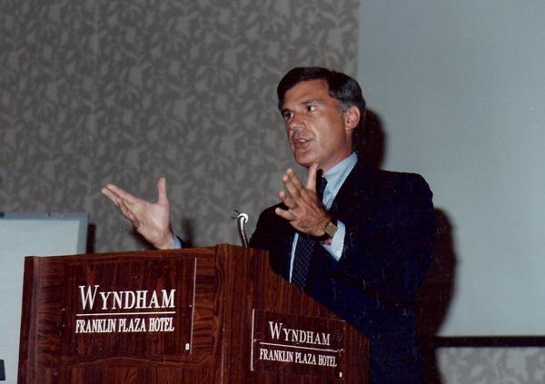 Keynote Speech to Management (Wyndham Franklin Plaza Hotel)