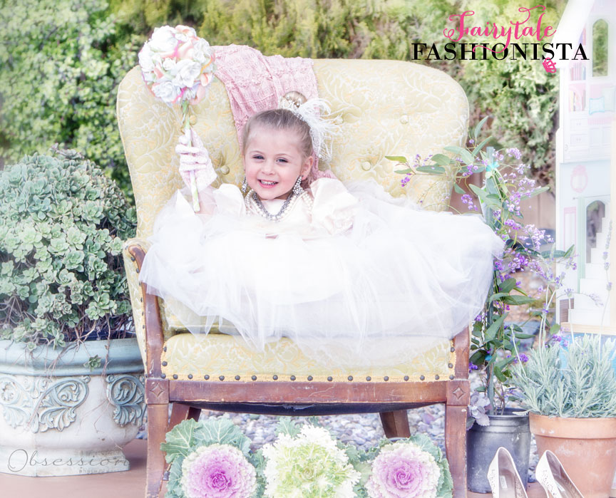Photo and Set Design by  Obsession Photo & Design  | Flower Wand by  Embellishmint