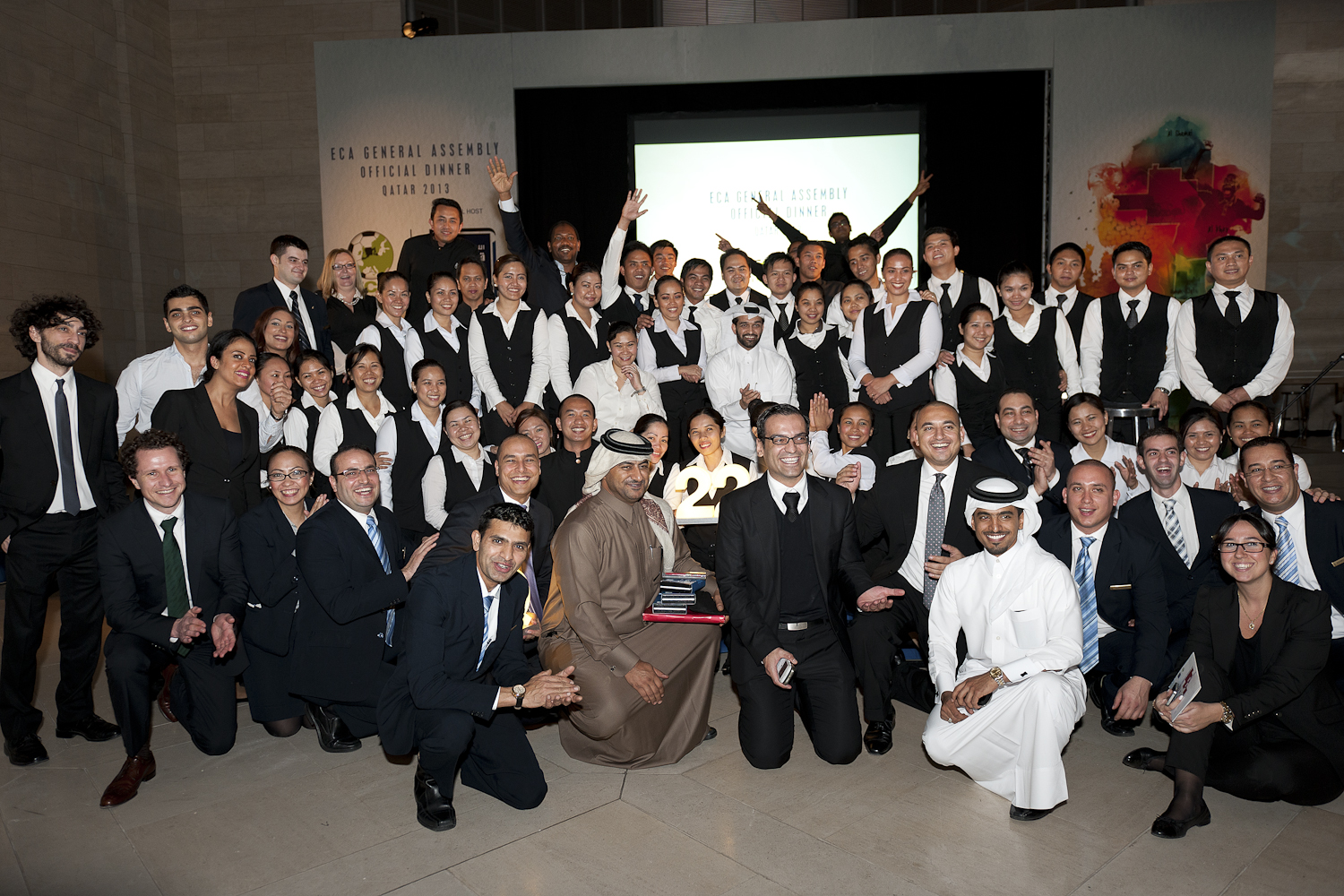 Group Staff Picture, Corporate Picture, Corporate Event, Company Picture, Group, Doha, Qatar