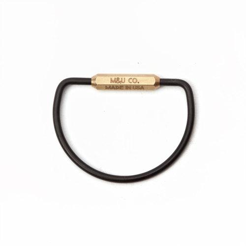 Brass Key Ring $32